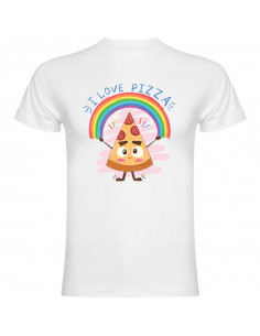 T-shirt I love pizza