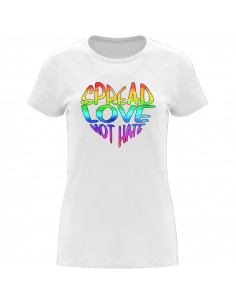 T-shirt Spread love not hate