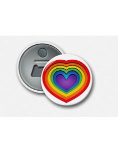 Magnet Rainbow heart