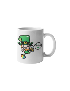 Saint Patrick's Day Cheers Mug