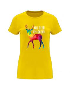 Oh Deer I'm Queer women's...