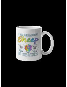 Mug I am the rainbow sheep...