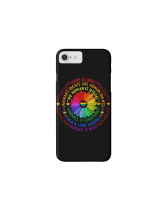 Rainbow flower case with...
