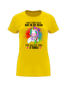 Women's T-Shirt I may look...