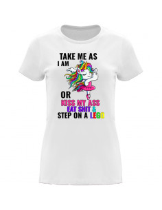 Women's T-Shirt Take me as...