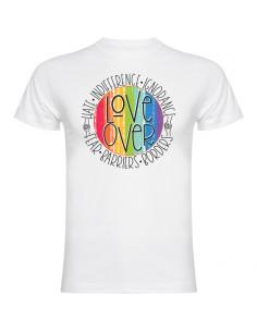 Men's T-Shirt Love over hate