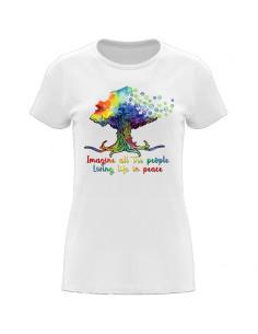 Women's T-Shirt Imagine all...