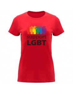 T-shirt Support LGBT