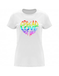 T-shirt LGBT spread love...